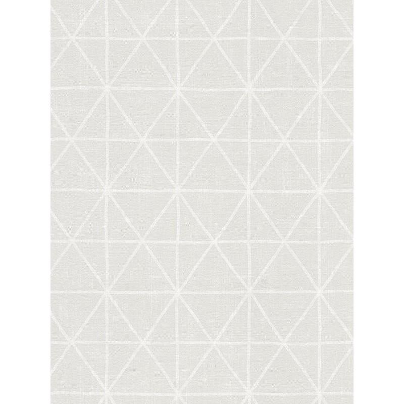 Papier peint intissé graphique écru - AS CREATION