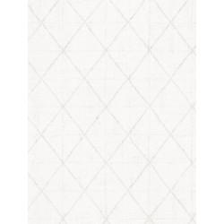Papier peint intissé graphique motif losange blanc - SCANDINAVIAN STYLE - AS CREATION