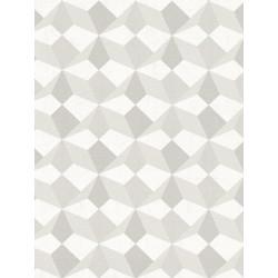 Papier peint intissé origami gris/taupe/argent/beige - SCANDINAVIAN STYLE - AS CREATION