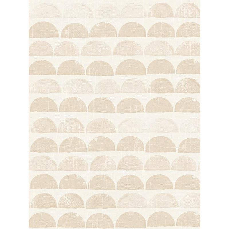 papier peint graphique demi lunes beiges. Black Bedroom Furniture Sets. Home Design Ideas
