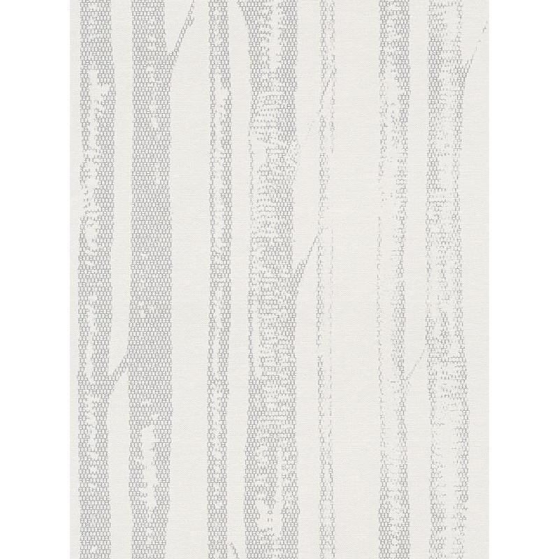 Papier peint intissé natural lace gris/écru - AS CREATION