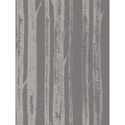 Papier peint intissé natural lace taupe/ecru - SCANDINAVIAN STYLE - AS CREATION