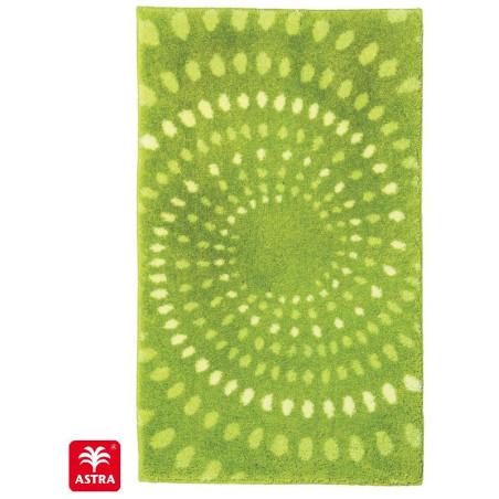 Tapis de bain Mauritius cercle vert - SCHONER WOHNEN