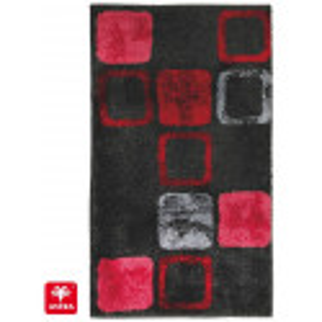 Tapis de bain Mauritius box rouge - SCHONER WOHNEN