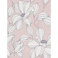 Papier peint intissé exotic flower rose - Urban Flowers - AS CREATION