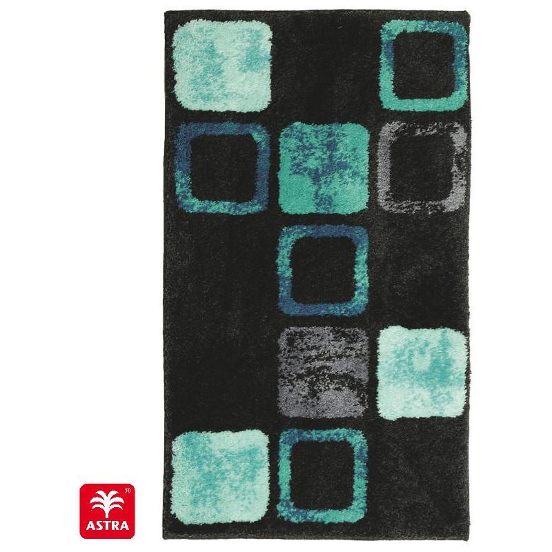 Tapis de bain Mauritius box bleu - SCHONER WOHNEN