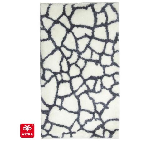 Tapis de bain Mauritius pierre blanc - SCHONER WOHNEN