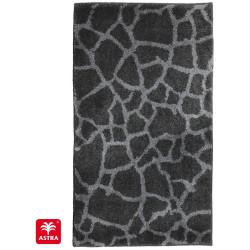 Tapis de bain Mauritius pierre gris anthracite - SCHONER WOHNEN