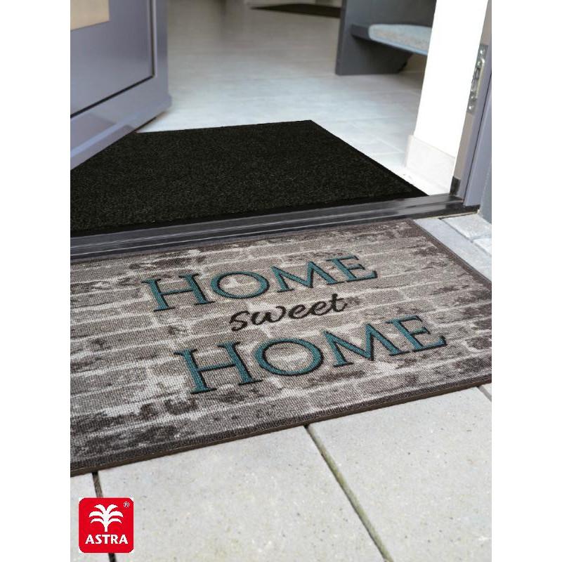 Paillasson imprimé Home Sweet Home pierres gris Casadoor - Astra