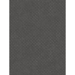 Revêtement PVC - Largeur 4m - Solid Techno gris foncé métallique - Beauflor