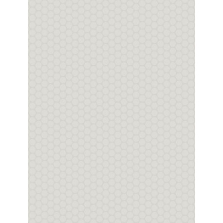 Revêtement PVC - Largeur 4m - Sketch Solid Disc gris - Beauflor