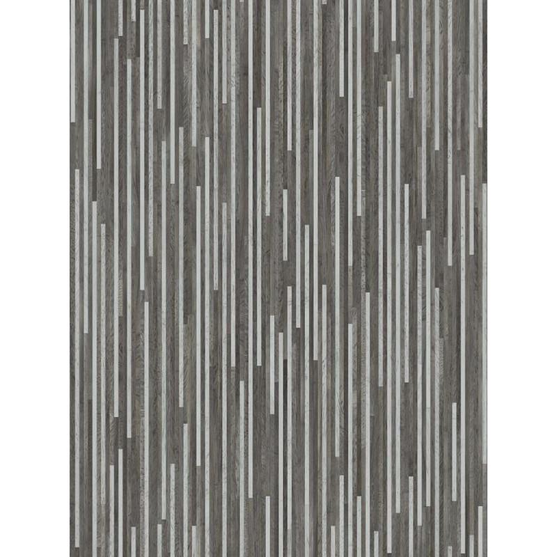 Revêtement PVC - Largeur 3m - Galaxy Deco Rayures grises - Beauflor