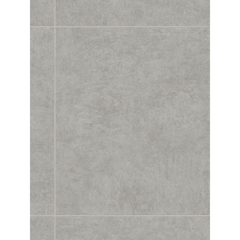 Revêtement PVC - Largeur 3m - Marsala carrelage gris Cityscape - IVC