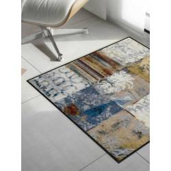 Tapis de propreté - Paillasson Pattern Anna Flores - carré 85x85cm - EFIA