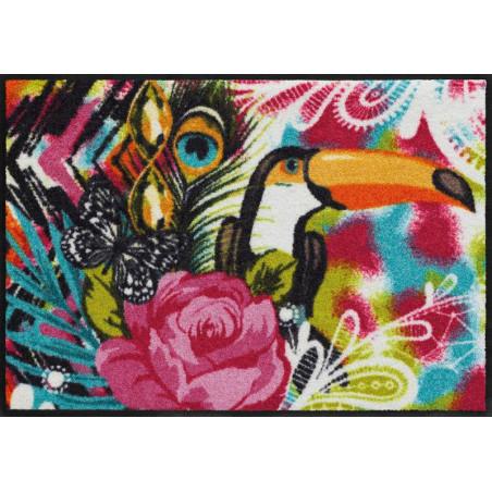 Tapis de propreté - Paillasson TUKAN coloré 50x75cm - EFIA