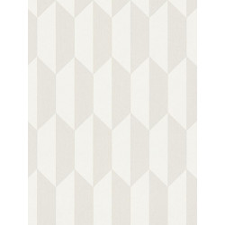 Papier peint intissé scandinave motif losange beige - BJORN - AS CREATION