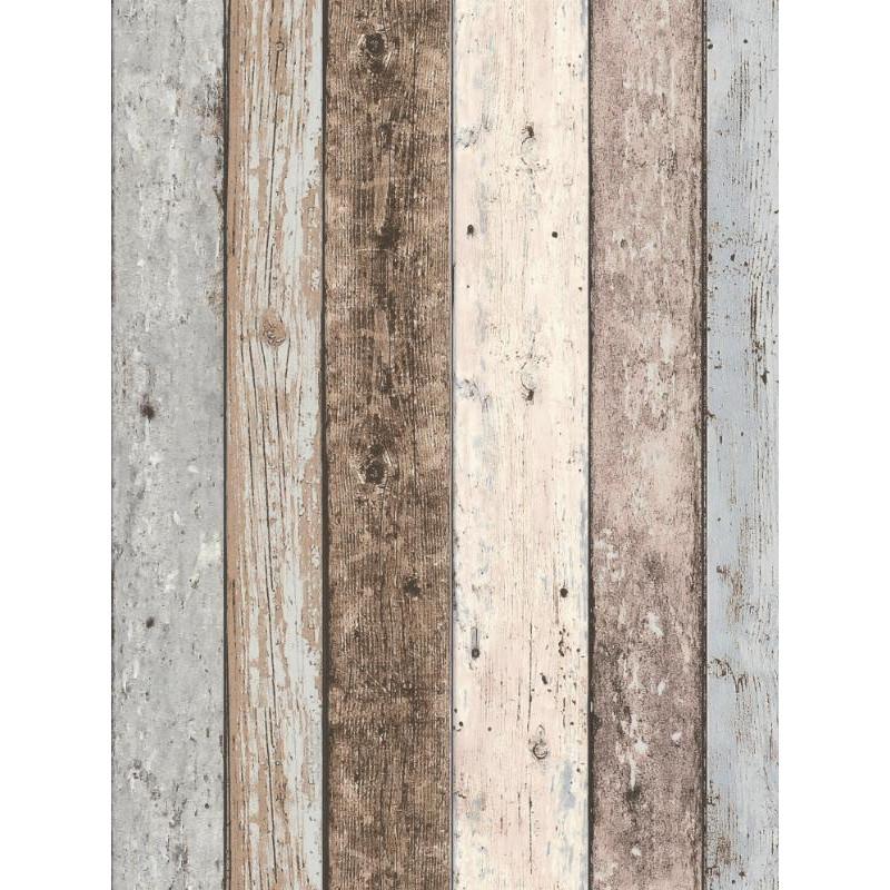 Papier peint intissé Bois vintage - AS CREATION