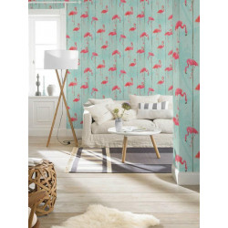 Papier peint intissé Flamants rose - B.B. HOME PASSION 5 Rasch