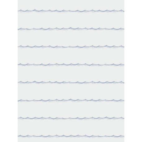 Papier peint Vagues bleu - MY LITTLE WORLD - Casadeco - MLW29716538