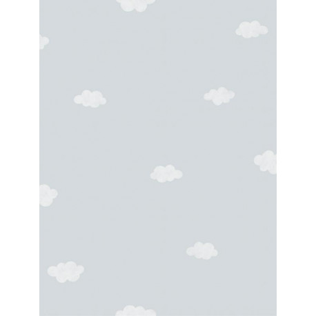 Papier peint Nuages bleu - MY LITTLE WORLD Casadeco - MLW29756430