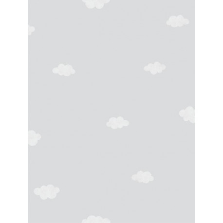 Papier peint Nuages gris - MY LITTLE WORLD - Casadeco - MLW29759332