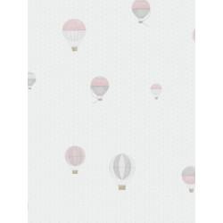 Papier peint Montgolfière rose - MY LITTLE WORLD Casadeco - MLW29774314