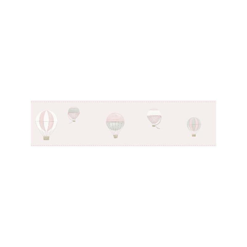 Frise enfant Montgolfière rose - MY LITTLE WORLD - Casadeco - MLW29784325