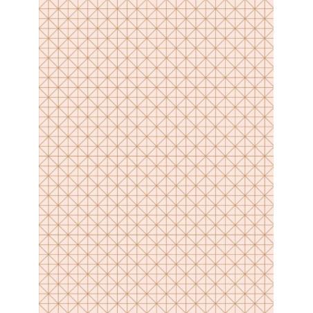 Papier peint Carré rose cuivre - TONIC - Caselio - TONI69454916