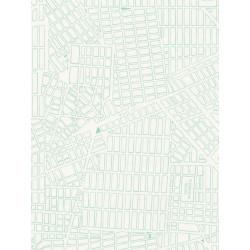 Papier peint New York Plan turquoise - TONIC - Caselio - TONI69496722