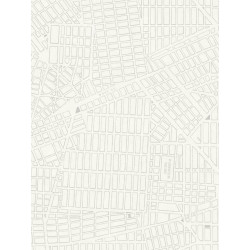 Papier peint New York Plan gris - TONIC - Caselio - TONI69499122