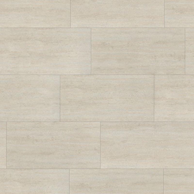 WINEO 600 Stone - Dalles clipsables aspect carrelage - Polar Travertine