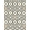 Tapis vinyle PVC - Novo Lagos gris beige - 66x100cm