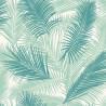 Papier peint intissé Palmier Retro vert - Ugepa