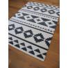 Tapis motif ethnique gris et blanc 160x230cm - Alaska - BALTA