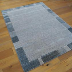 Tapis motif classique gris bleuté - 160x230cm - Shift - BALTA
