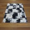 Tapis tout doux Abstrait gribouilles gris/beige - 120x170cm - PLAY