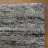 Tapis shaggy Lignes gris - Grandes Tailles - SHERPA