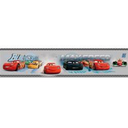 Frise adhésive Cars - gris - Lutèce