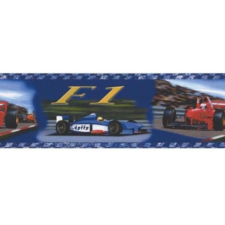 Frise adhésive voitures Formule 1 - Lutèce