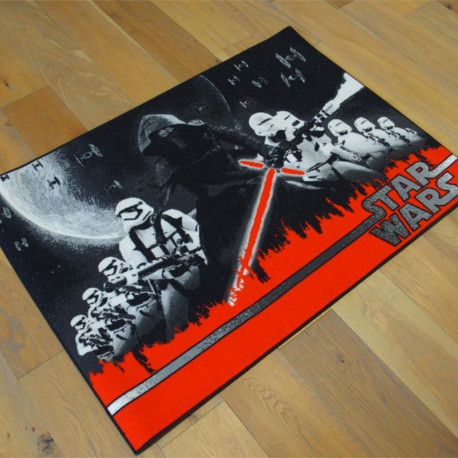 Tapis Disney Enfant - STAR WARS Univers - 95x133cm