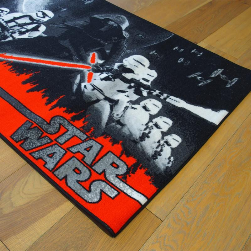 tapis disney enfant star wars univers 95x133cm. Black Bedroom Furniture Sets. Home Design Ideas