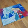 Tapis Disney Enfant - Reine des Neiges : Anna & Elsa, libérées, délivrées - 95x133cm