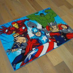 Tapis Marvel Enfant - Avengers en action - 95x133cm