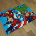 Tapis Marvel Enfant - Avengers en action - 95x133cm