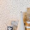 Papier peint Terrazzo gris- Material - Caselio