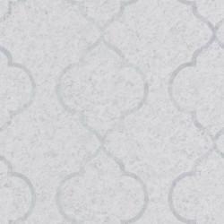 Papier peint ornement gris clair et argenté - Material - Caselio