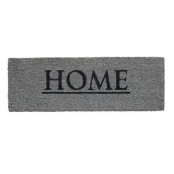 Paillasson coco intérieur RUCO PRINT Home gris 26x75cm - Hamat