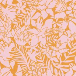 Papier peint Aloha rose et orange - SMILE - Caselio - SMIL69824203