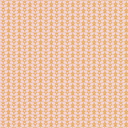 Papier peint Flower Power rose et orange - SMILE - Caselio - SMIL69784505