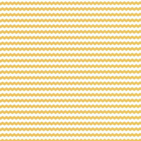 Papier peint chevronné jaune - Smile - Caselio